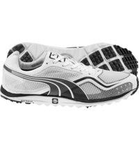 Men's Faas Lite Golf Shoes Mesh (White/Black)