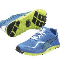 Men's Faas Lite Mesh Golf Shoes (Brilliant Blue/Limeade)