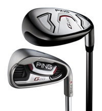 G20 3H, 4H, 5-PW Combination Iron Set with Graphite Shafts