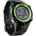 Garmin Approach S2 Black/Green GPS Watch- Golfsmith Exclusive