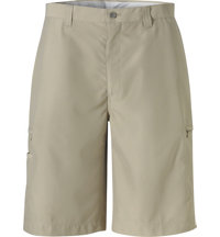 Men's Big & Tall Flat Front Cargo Shorts