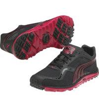 Women's Faas Lite Mesh Spikeless Golf Shoes - Black/Pink