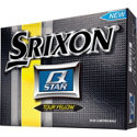 Srixon Personalized Q-Star Tour Yellow Golf Balls