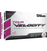 Women's Tour Velocity 15-Pack Golf Balls