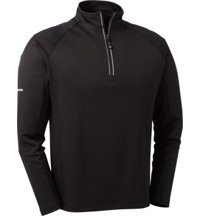 Men's Solid Drywick Quarter-Zip Pullover