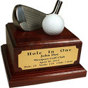 Great Golf Memories Personalized Hole In One Desktop with Iron