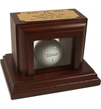 Personalized Hole In One Display