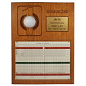 Great Golf Memories Personalized Scorecard & Ball Hole In One Plaque