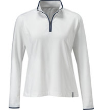 Women's Long Sleeve 1/4 Zip Mid Weight Pullover