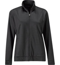 Women's Full Zip Heavy Weight Fleece Jacket