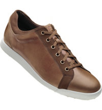 Men's Closeout Contour Casuals Spikeless  Golf Shoes - Taupe  (FJ#54212)