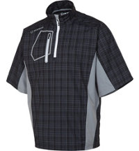 Men's Berlin Plaid Short Sleeve Waterproof Pullover