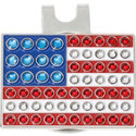 ZTech USA Flag Ball Marker with Cap Clip