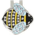 ZTech Bumble Bee Ball Marker with Cap Clip