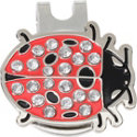 ZTech Lady Bug Ball Marker with Cap Clip