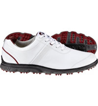 Men's DryJoys Casuals Spikeless Golf Shoes - White (FJ# 53503)