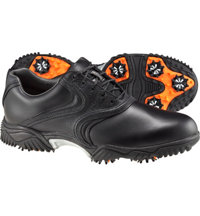 Men's Closeout Contour Series Golf Shoes - Black (FJ#: 54904)