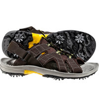 Men's GreenJoys Golf Sandals - Brown