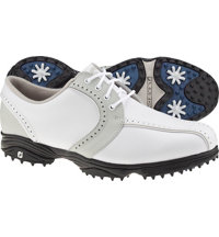 Women's GreenJoys Spiked Golf Shoes - White/Cloud (FJ# 48357)