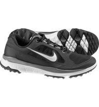 Men's FI Impact Spikeless Golf Shoes - Black/Metallic Silver/Light Gray/Dark Gray