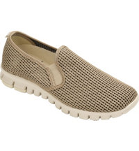 Women's Wino Mesh Casual Shoes - Taupe