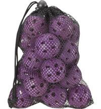 ZTech Airflow Ladies Practice Balls in Mesh Bag - 18 Count