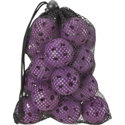 ZTech ZTech Airflow Ladies Practice Balls in Mesh Bag - 18 Count