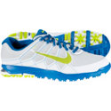 Nike Men's Air Range WP II Spikeless Golf Shoes - Platinum/Venom Green/Military Blue/White