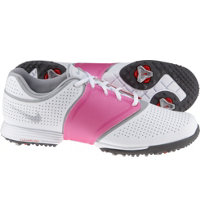 Women's Lunar Embellish Spikeless Golf Shoes - Pure Platinum/Wolf Grey/White