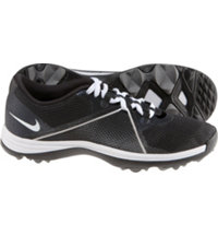 Women's Lunar Summer Lite Spikeless Golf Shoes - Black/White/Dark Gray