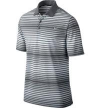Men's Key Bold Heather Stripe Short Sleeve Polo