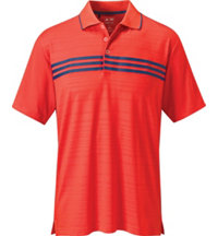 Men's ClimaCool 3-Stripes Chest Short Sleeve Polo