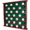 JG HICKORY 49-Hole Ball Cabinet