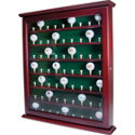 J.G. Hickory 63-Hole Ball Cabinet
