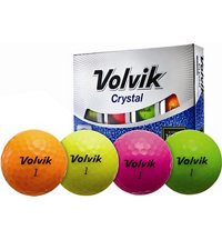 Personalized Crystal Yellow/Orange Golf Balls