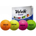 Volvik Personalized Crystal Yellow Golf Balls