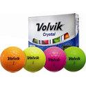 Volvik Crystal Assorted Golf Balls