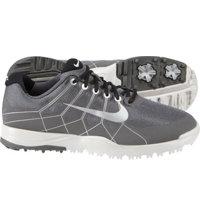 Junior Nike Range Spikeless Golf Shoes - Dark Grey/Metallic Silver/Midnight Fog/Black (#533096)