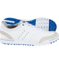 Men's adicross III Spikeless Golf Shoes - White/White/Satellite