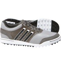 Men's adicross III Spikeless Golf Shoes - Grey/White/Dark Cinder