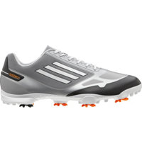 Men's adizero One Golf Shoes - Grey/Zest/White