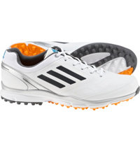 Men's adizero Sport II Spikeless Golf Shoes - White/Dark Silver/Silver