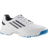 Jr. adizero Spiked Golf Shoes - White/Carbon/Blue