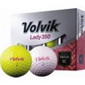 Volvik Lady 350 Pink/Yellow Golf Balls