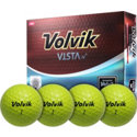 Volvik Vista iV Yellow Golf Balls