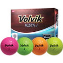 Volvik Personalized Vista iV Pink Golf Balls