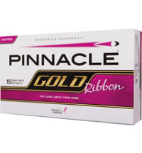 Gold Ribbon 15-Pack Golf Balls