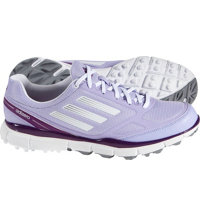 Women's adizero Sport II Spikeless Golf Shoes - Purple/White/Silver