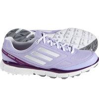 Women's adizero Sport II Spikeless Golf Shoes - Purple/White/Silver