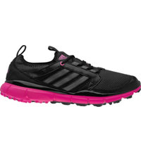 Women's adistar Clima Cool Spikeless Golf Shoes - Black/Carbon/Magenta